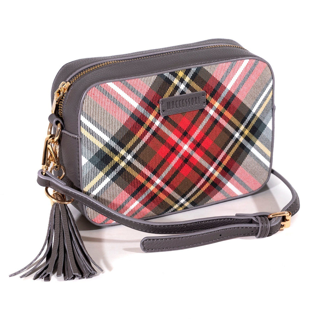 Tartan Cross Body Bag - Dress Stewart - Coorie Doon