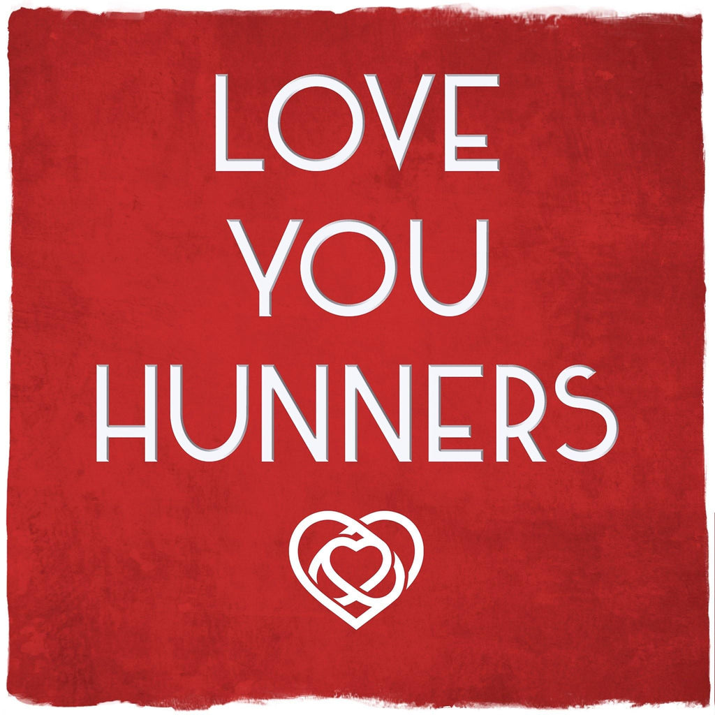 Card: Love You Hunners - Coorie Doon