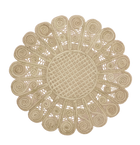 Caracoles Round Woven Iraca Placemat