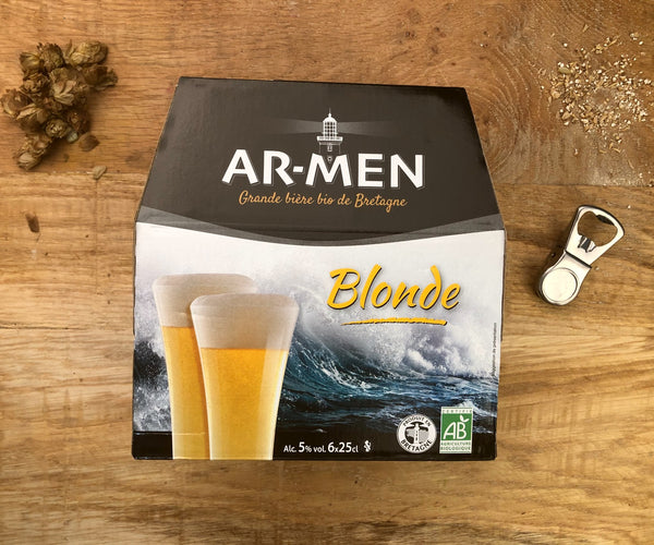 Pack Bière AR-MEN blonde BIO
