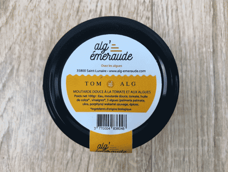 Moutarde tom'alg - tomate & algues