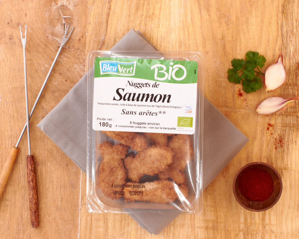 Nuggets de saumon BIO