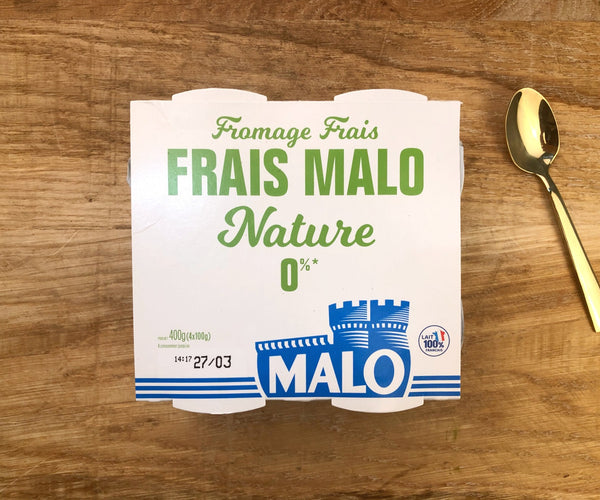 Fromage Frais Nature 0% x4