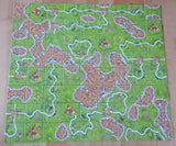 Top view of all 72 landscape tiles that are included.