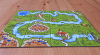 Side-view showing the meandering river on the 12 tiles in this expansion.