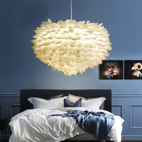 Design feather Lamp
