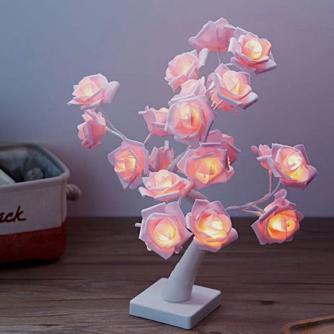 Rose tree light