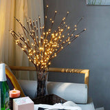 Branch fairy lights