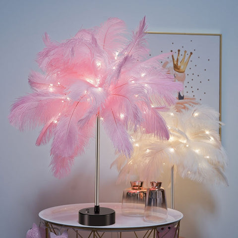Feather palm fairy tree
