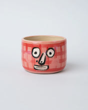 Load image into Gallery viewer, Gingham Face Mug