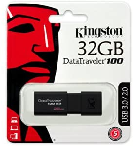 Kingston 32GB USB Flash Drive