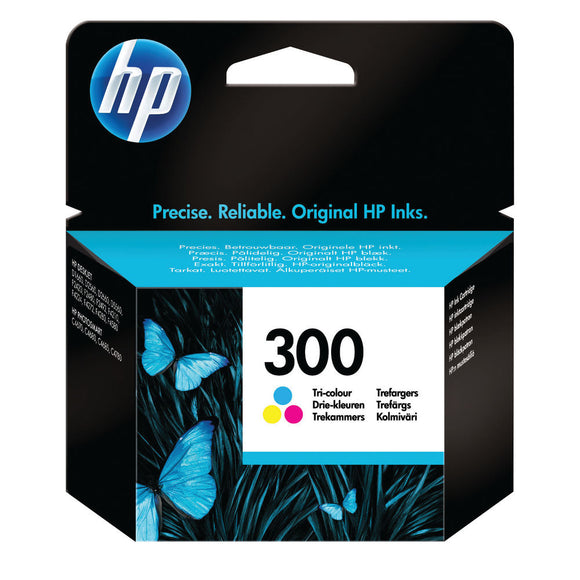 HP 300 INK CARTRIDGE TRI COLOUR