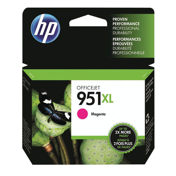 HP 951XL OFFICEJET INK CARTRIDGE MAGENTA
