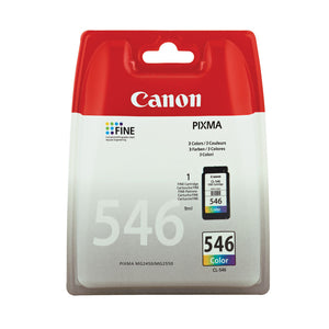CANON CL546 COLOUR INK CART CMY 8289B001
