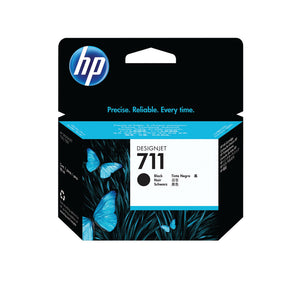 HP711 BLK INK CARTRIDGE 80ML CZ133A PK1