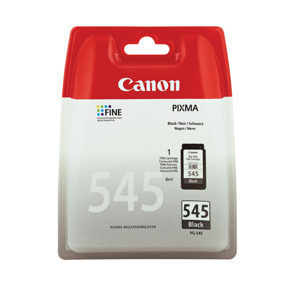 CANON PG545 INK CART BLK 8287B001