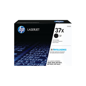 HP 37X HY BLACK TONER CARTRIDGE