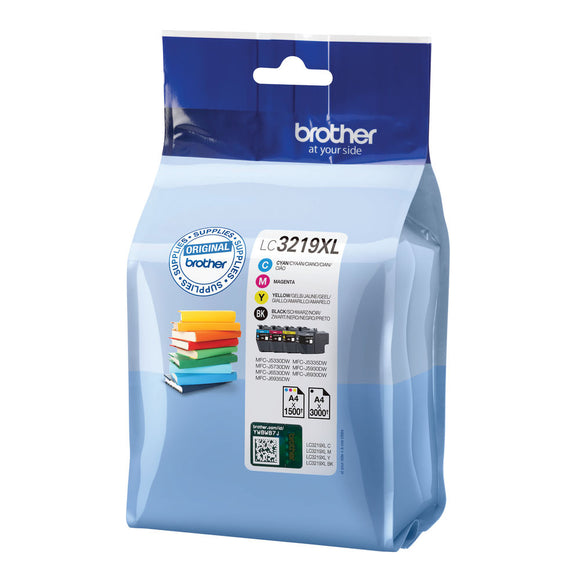 BROTHER LC3219 VALUE PACK CMYK PACK4