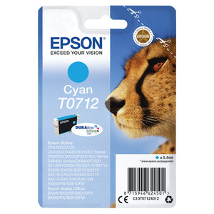 EPSON T0712 CYAN INKJET CARTRIDGE