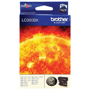 BROTHER LC980BK INK CARTRIDGE BLACK