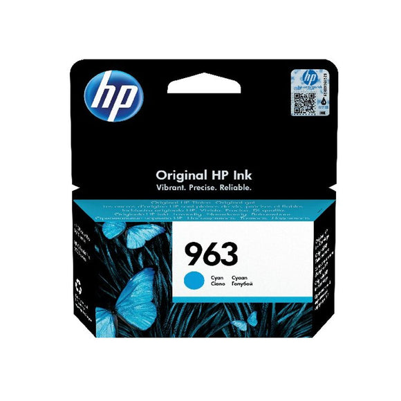 HP 963 ORIGINAL INK CARTRIDGE CYAN