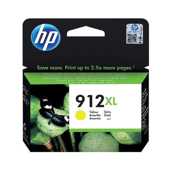 HP 912XL HIGH YLD YELOW INK CRTRIDGE