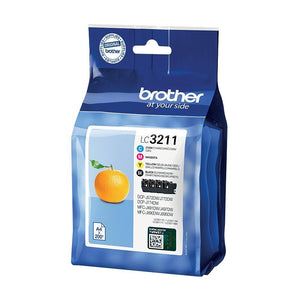 BROTHER LC3211 VALUE PACK BK/C/M/Y