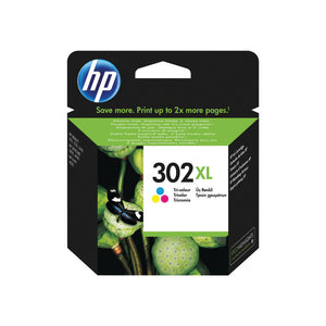 HP 302XL TRI COLOUR INK CARTRIDGE