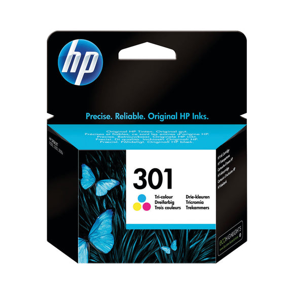 HP 301 INK CART TRICOL CH562EE PK