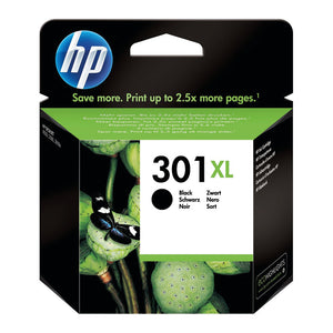 HP 301XL INK CART BLK CH563EE PK