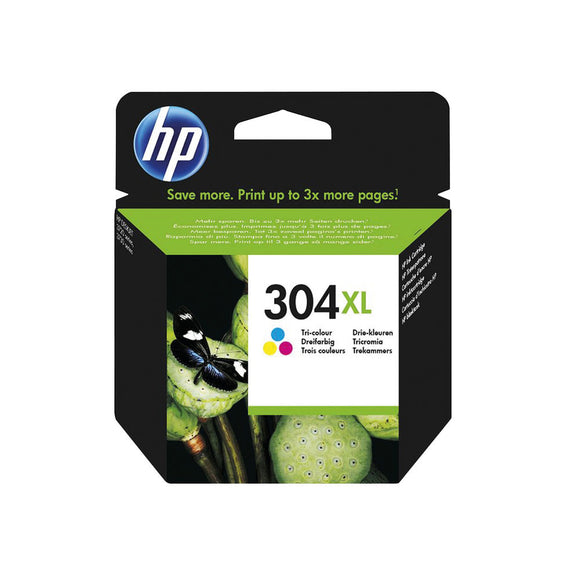 HP 304XL ORIGINAL INK CART TRICOL