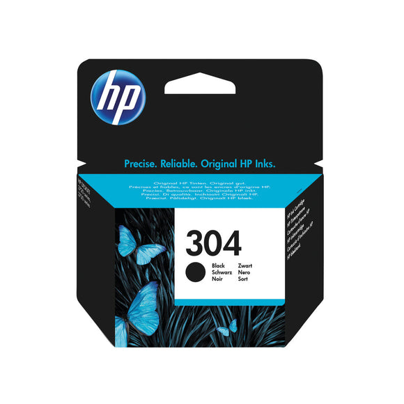 HP 304 ORIGINAL INK CART BLACK