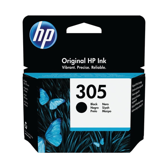 HP 305 ORIGINAL INK CARTRIDGE BLACK