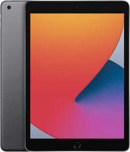 New Apple iPad (10.2-inch, Wi-Fi, 32GB) - Space Grey (Latest Model, 8th Generation)