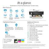 HP OfficeJet Pro 7720  A3 Colour Multifunction Inkjet Printer [Y0S18A]