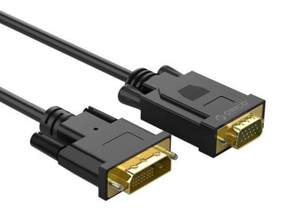 DVI to VGA Cable 1.8M