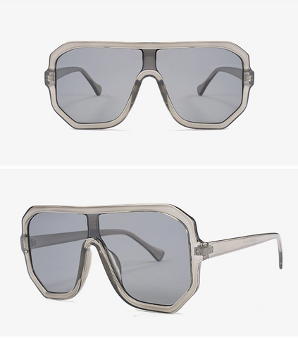 Unisex Shield Style Street Fashion Sunglasses - Yesy All Goods
