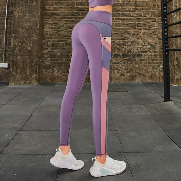 Premium Colour Mixed-Match Gym & Fitness Legging for Women