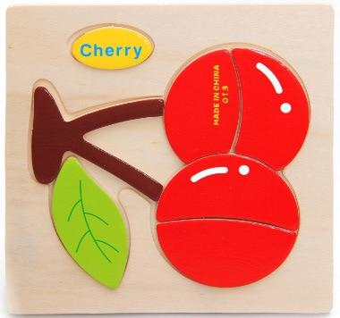 Wooden Sorting Puzzle Fruit Theme - Yesy All Goods