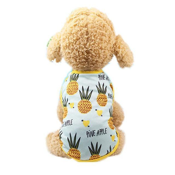 Sweet Fruity Theme Clothes Vest for Dogs - Yesy All Goods