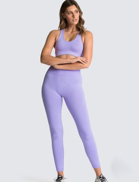Fitness Gym Seamless Clothing Top & Bottom 2Pcs Set for Women (Top & Bottom are available to be sold separately) - Yesy All Goods