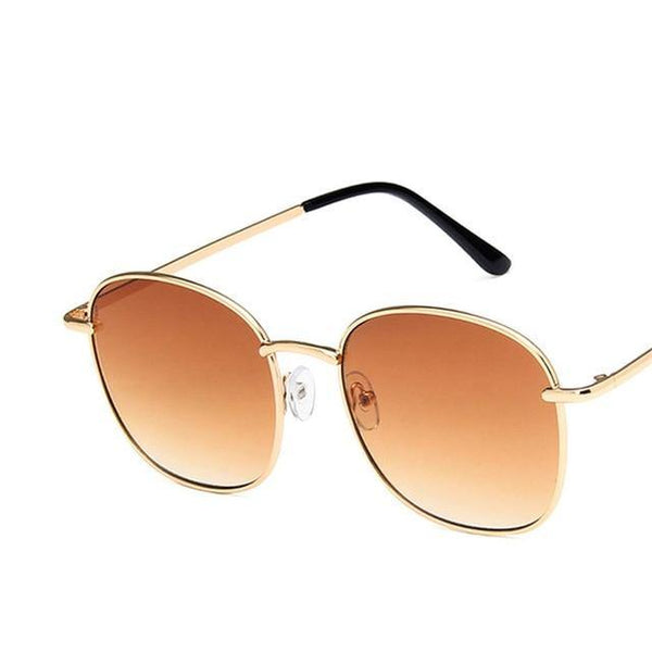 Metal Framing Lux Retro Square Shape Sunglasses for Women - Yesy All Goods