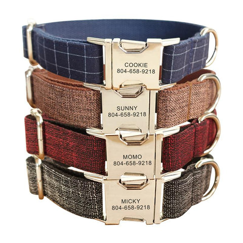 High Quality Suit Personalized Pet Collars/Leads