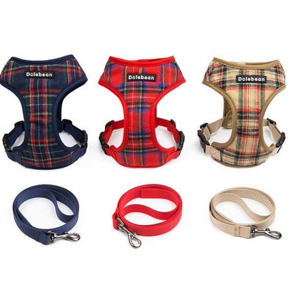 British Style And Fashion Harness Lead Combo Set - Yesy All Goods