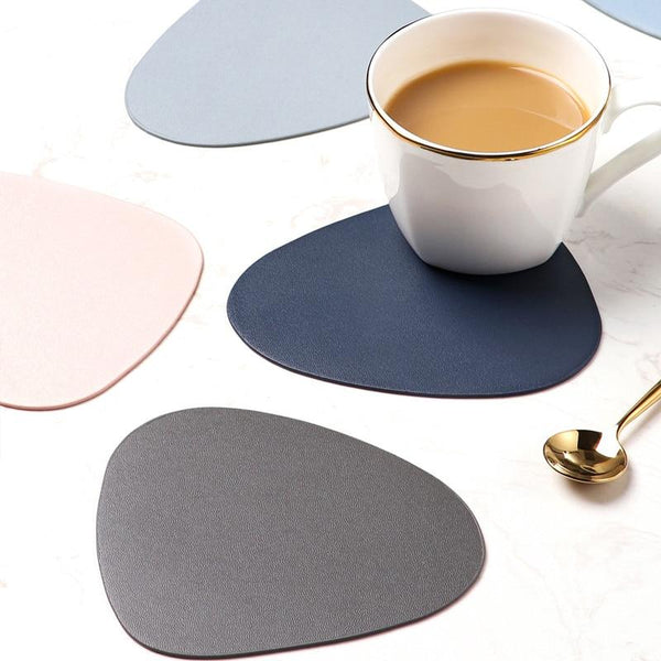 Luxury Leather Teapot Coasters - Yesy All Goods