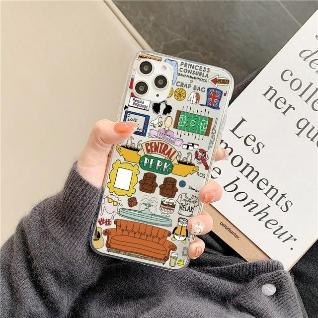 Central Perk & Friends iPhone Case for iPhone 11 Series - Yesy All Goods