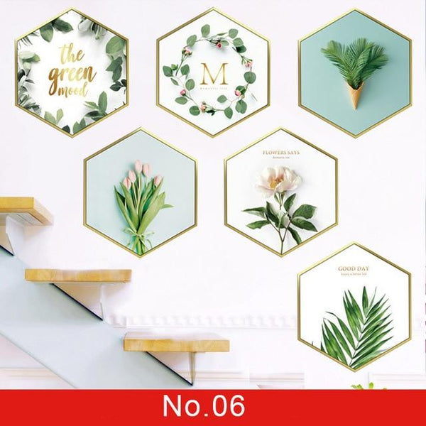 Wall or Window Sticker Plant Leaves for Home Decor - Yesy All Goods