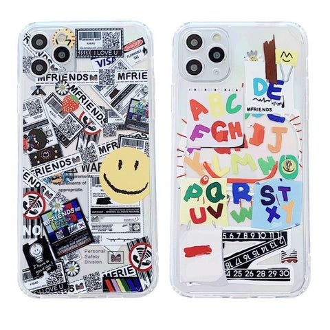 Happy and Smile Face Case for iPhone 11/12 Series