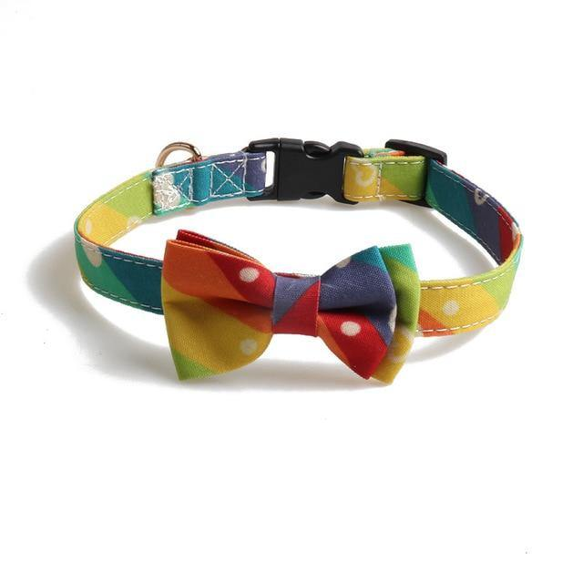 Adjustable Cutie Bowknot Dog Collars - Yesy All Goods