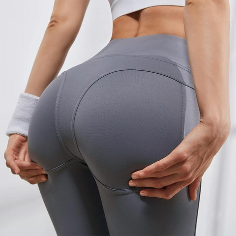 Women Gym & Fitness High Waist Compression Legging Featured with Hip Pushup - Yesy All Goods